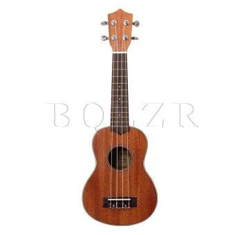 """21"""" 4 String Acoustic Guitar Musical Instrument Brown"""