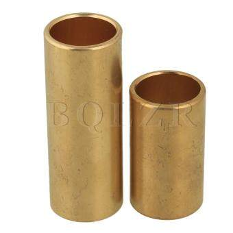 2.4x2x6.2/4cm Brass Guitar Slide Tube Set of 2 Golden