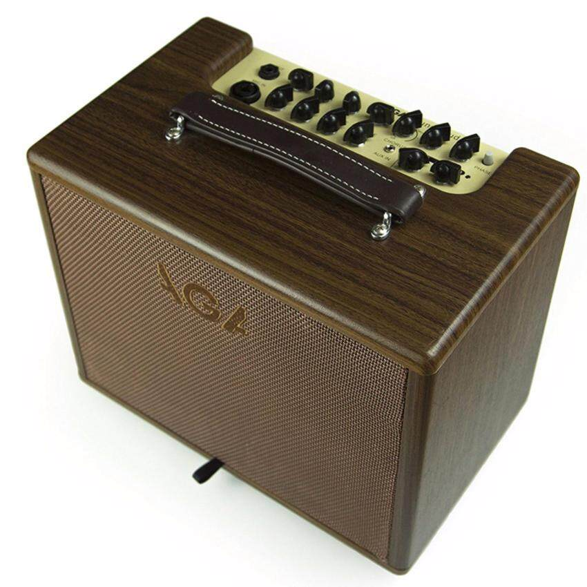AGA แอมป์กีต้าร์ อคูสติก Acoustic Guitar Amp รุ่น SC-60II (น้ำตาล)