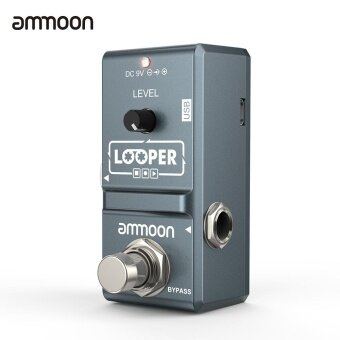 ammoon AP-09 Nano Loop Electric Guitar Effect Pedal Looper True Bypass Unlimited Overdubs 10 Minutes Recording with USB Cable - intl