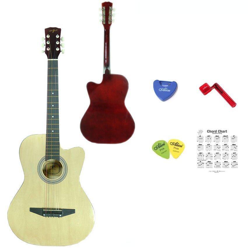 ด่วน At First กีตาร์โปร่ง Acoustic Guitar 38