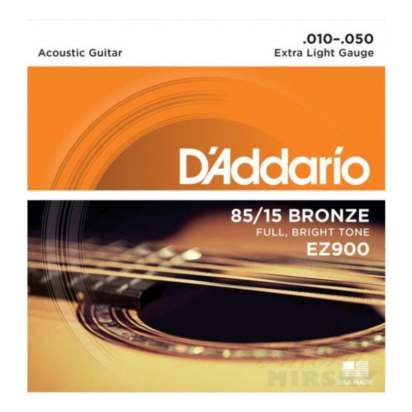 ลดด่วนD'Addario สายชุดกีตาร์โปร่ง รุ่น EZ900 010 -050 มาซื้อเร็ว