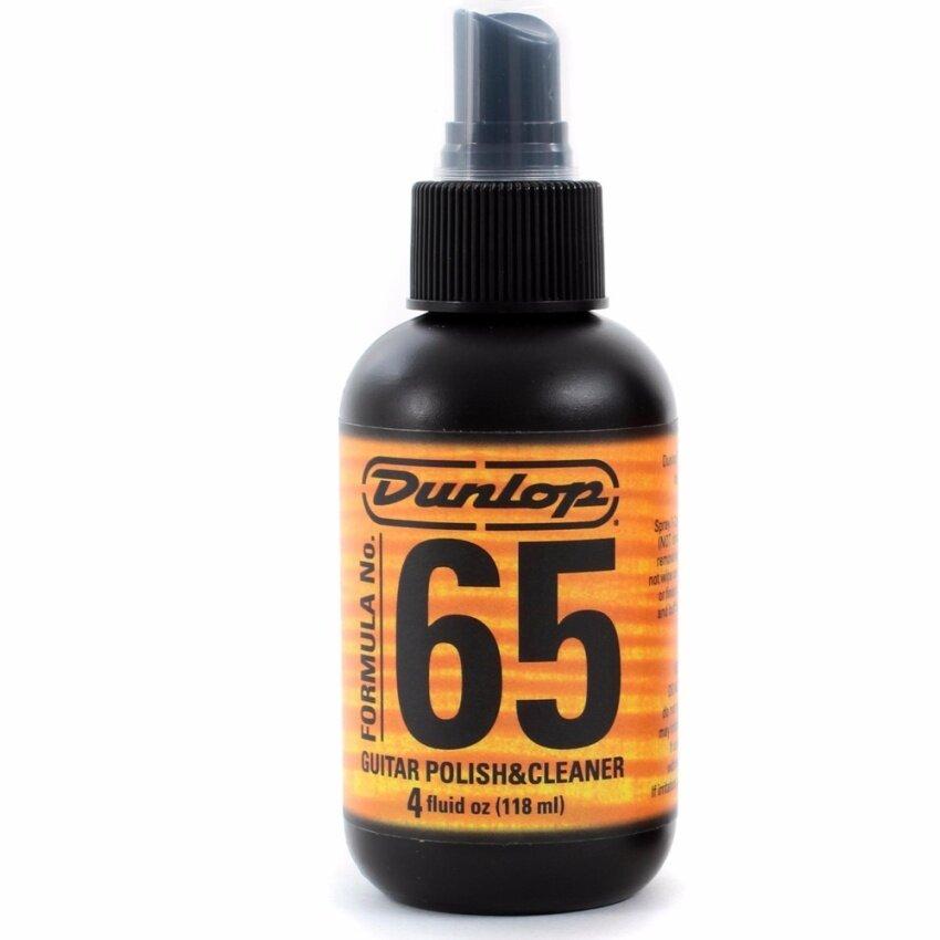 Dunlop น้ำยาทำความสะอาดกีตาร์ รุ่น Formula 65 Polish and Cleaner (ที่ทำความสะอาดตัวกีตาร์, น้ำยาเช็ดตัวกีตาร์, Guitar Cleaner )