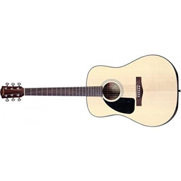 Fender Beginner Dreadnought Acoustic Guitar, Left Handed CD-100 - Natural - intl