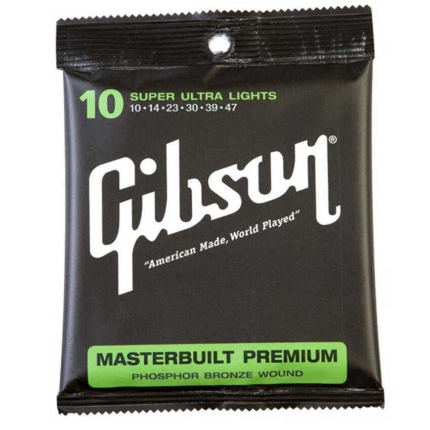 ลดด่วนGibson สายกีตาร์โปร่ง SUPER ULTRA LIGHTS g010 มาซื้อเร็ว