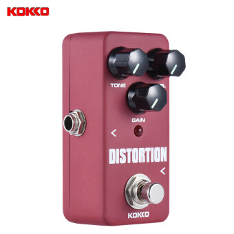 KOKKO FDS2 Mini Distortion Pedal Portable Guitar Effect Pedal -intl