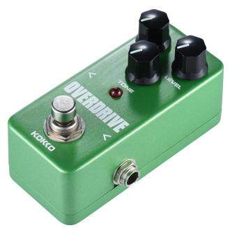 KOKKO FOD3 Mini Overdrive Pedal Portable Guitar Effect Pedal GreenOutdoorfree - intl