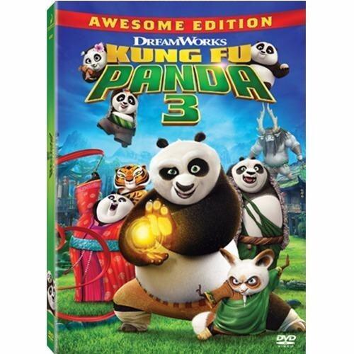 Kung Fu Panda 3 (2D+DVD)/กังฟูแพนด้า 3 (2D+DVD) Blu-Ray Combo image