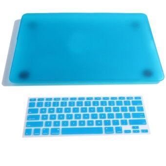 Macbook Pro 13.3 Retina protective shell + keyboard stickers - blue lake