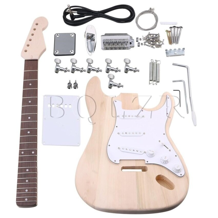 Maple SSS Pickups Electric Guitar DIY Builder Suits Accessories - intl