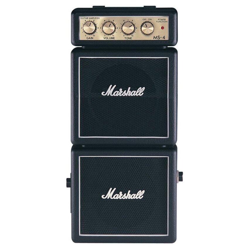 MARSHALL MINI STACK AMPLIFIER รุ่น MS-4 สีดำ