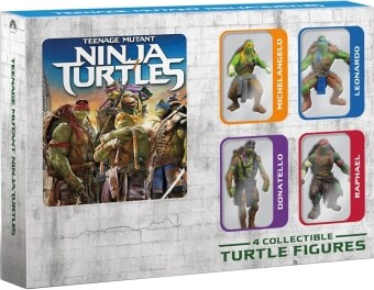 Media Play BLU-RAY Teenage Mutant Ninja Turtles 3D (Figurines)-เต่านินจา