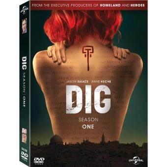 Media Play DIG (2014/15): Season 1 Set (10 episodes)/ขุดปมมรณะพลิกโลก ปี 1 DVD