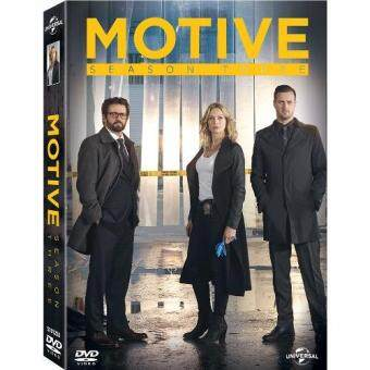 Media Play Motive Season 3 (13 episodes)/ล้วงเกมฆาตกร ปี 3 DVD