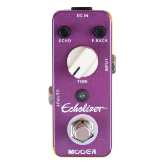 Mooer Echolizer Analog Delay Effect Pedal True Bypass