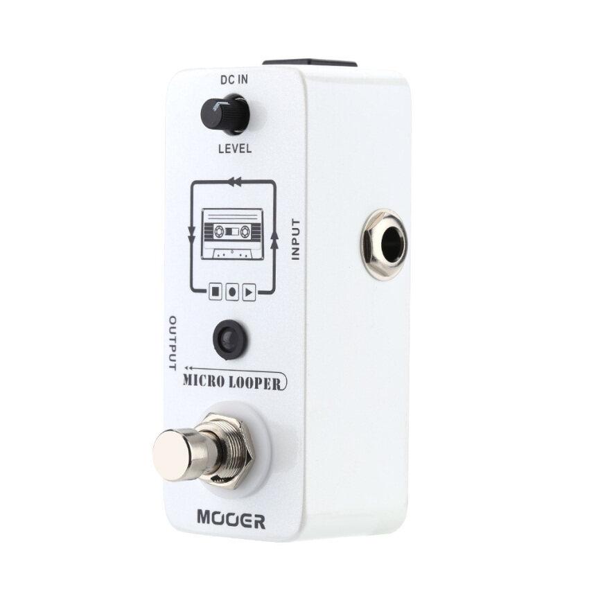 ลดด่วนMooer Micro looper Mini Loop recording Effect Pedal for ElectricGuitar True Bypass มาซื้อเร็ว