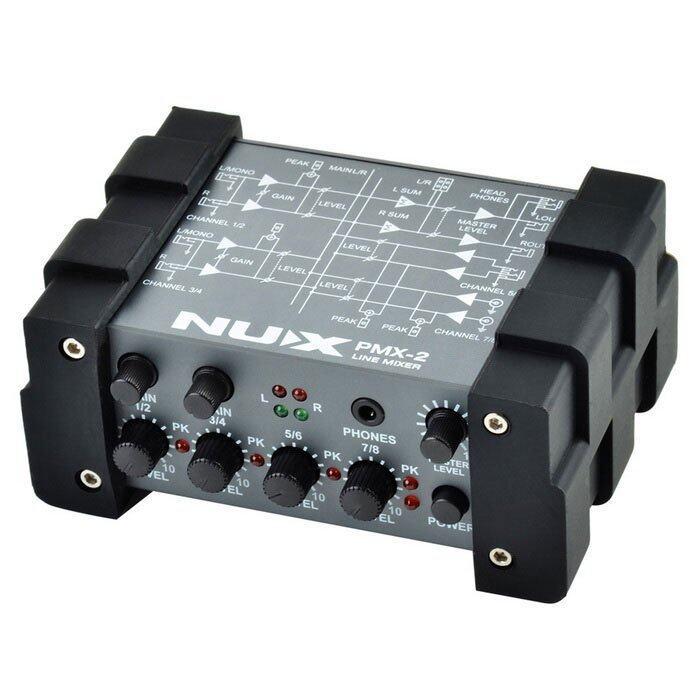 NUX เอฟเฟค Effect Audio Interface Line Mixer PMX-2