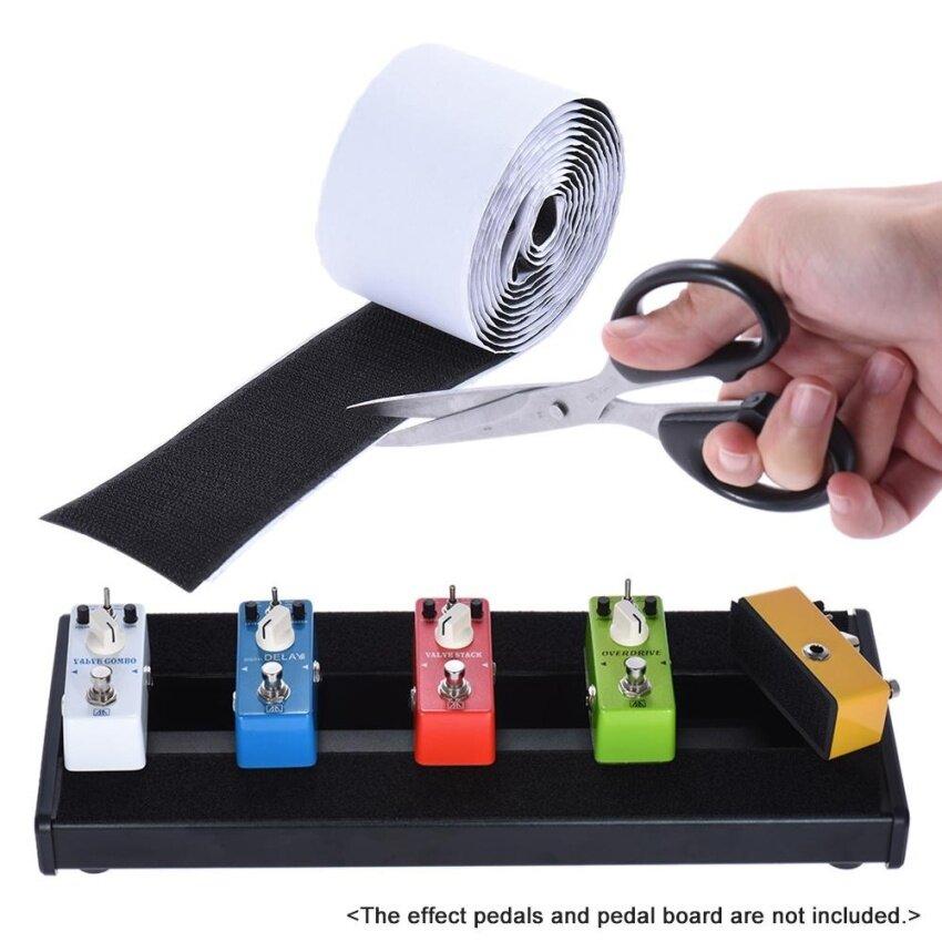Pedalboard Pedal Mounting Tape Fastener Length 2M Width 5CM for Guitar Pedal Board, 2-Pack (1 Hook + 1 Loop) - intl