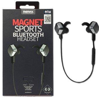 Remax หูฟัง บลูทูธ Magnet Sport Bluetooth Headset รุ่น RM-S2 ( สีดำ )
