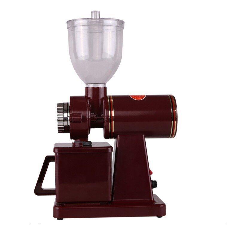 220v Coffee Grinder Machine Coffee Mill (Brown)