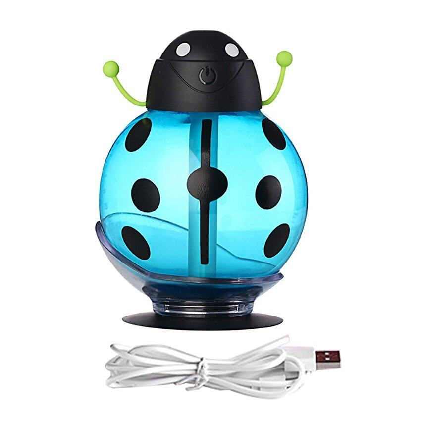 Allwin HB-05 Cute Beetle-shaped Humidifier Smoked Light ProtectingAir Humidifier blue -  ...