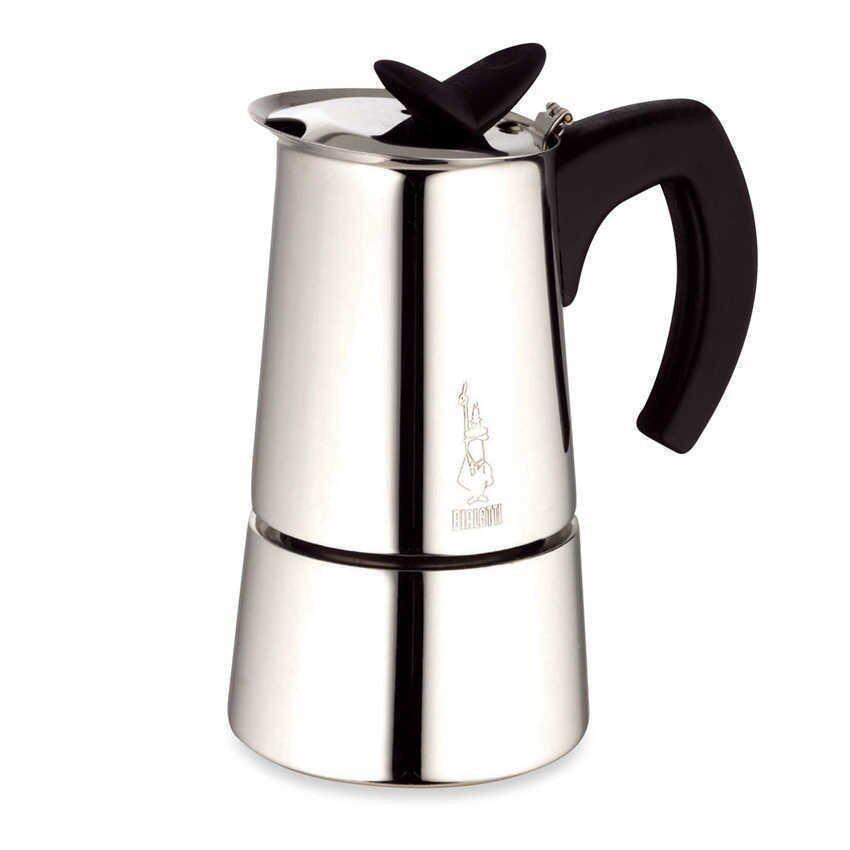 Bialetti หม้อต้มกาแฟสด สำหรับ 6 ถ้วย รุ่น Musa 4 cup ( silver ) ...