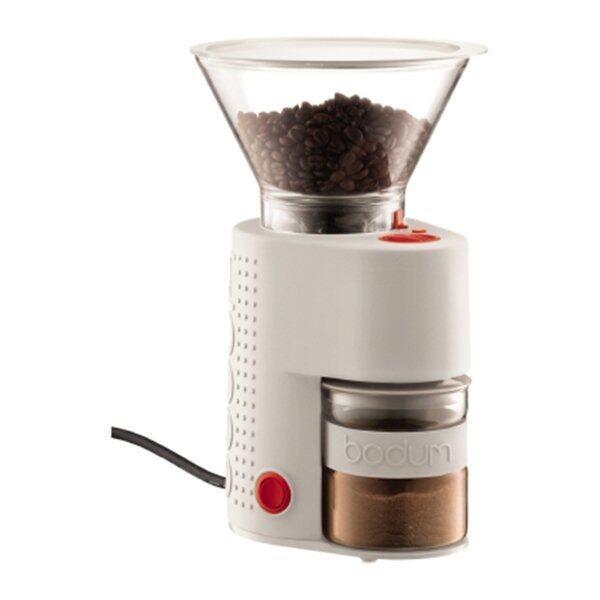Bodum เครื่องบดกาแฟไฟฟ้า บริสโทร (สีขาว) ...