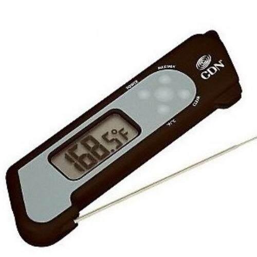 เครื่องวัดอุณหภูมิ CDN TCT572-B Folding Thermocouple Thermometer-Black