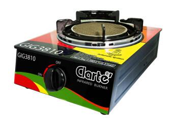 Clarte เตาแก๊สอินฟาเรด 1 หัวชนิดกระจก รุ่น GIG3810