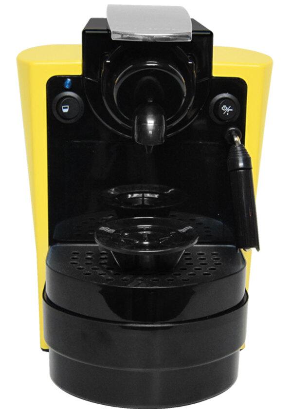 Cube คิวบ์ เครื่องทำกาแฟรุ่น อูโน่ พลัส สำหรับกาแฟลาวาซซา บลู สีเหลือง CUBE Uno Plus LB  ...
