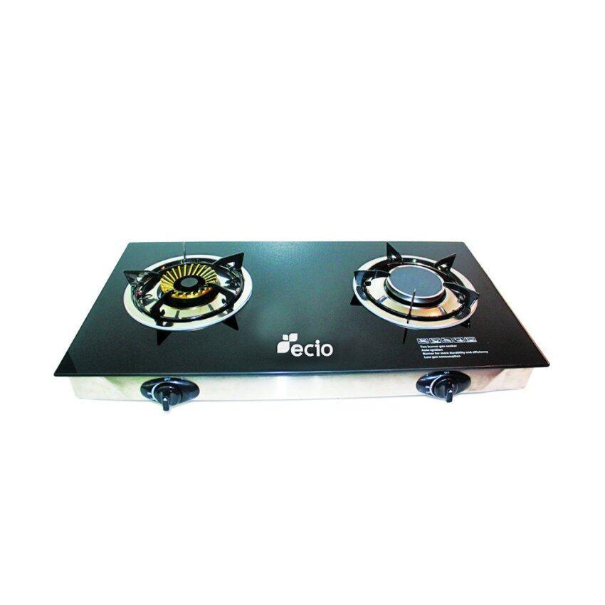 aaa ecio เตาแก๊สแบบกระจกหัวอินฟาเรด+หัวทองเหลือง 2 หัว รุ่น EC-GA2H-56 Sbobet
