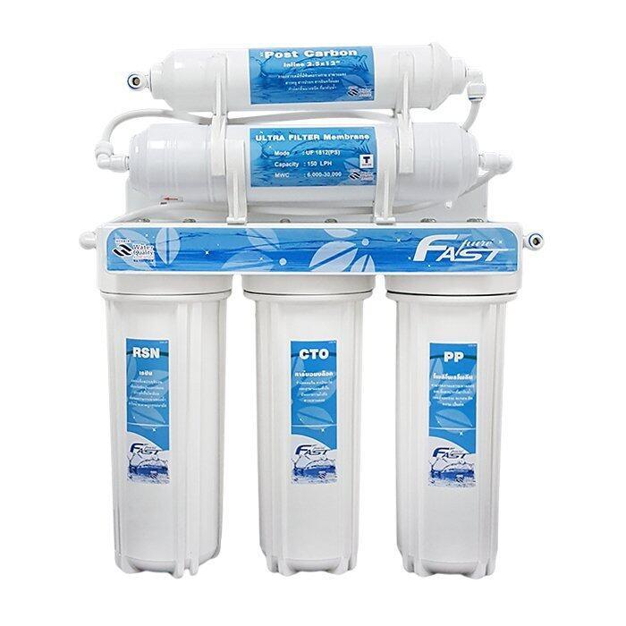 แนะนำ Fast Pure เครื่องกรองน้ำ 5 ขั้นตอน UF 0.01 ไมครอน ราคาประหยัด