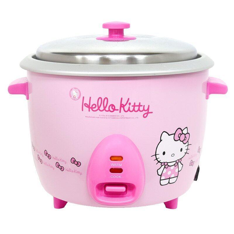 GALAXY หม้อหุงข้าวไฟฟ้า Hello Kitty ขนาด 1.8 ลิตร รุ่น RC-818 (สีชมพู)
