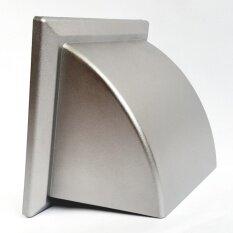 GFLOW หน้ากากท่อระบายอากาศฝาครอบโค้ง ท่อ 4