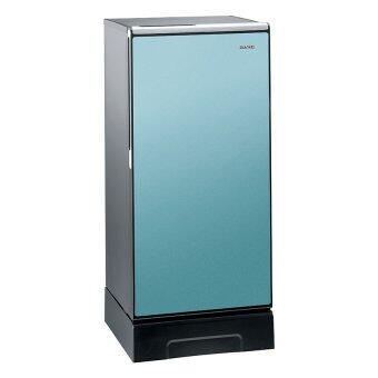 Hitachi ตู้เย็น 1 ประตู พร้อมชั้นวางกระจกแก้วนิรภัย รุ่น R-64V4 ขนาด 6.6คิว (สีฟ้า)