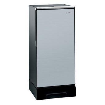Hitachi ตู้เย็น 1 ประตู พร้อมชั้นวางกระจกแก้วนิรภัย รุ่น R-64V4 ขนาด 6.6คิว (สีเงิน)