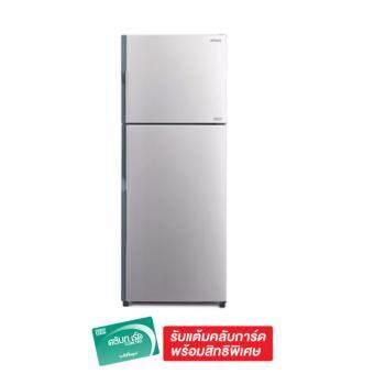 HITACHI ตู้เย็น 2 ประตู 14.4Q รุ่น R-V400PZ SLS - Silver