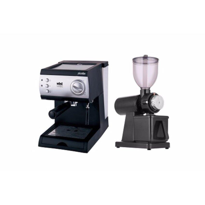 Minimex New Set Piccolino 2 ชุดเครื่องชงกาแฟและเครื่องบดกาแฟ