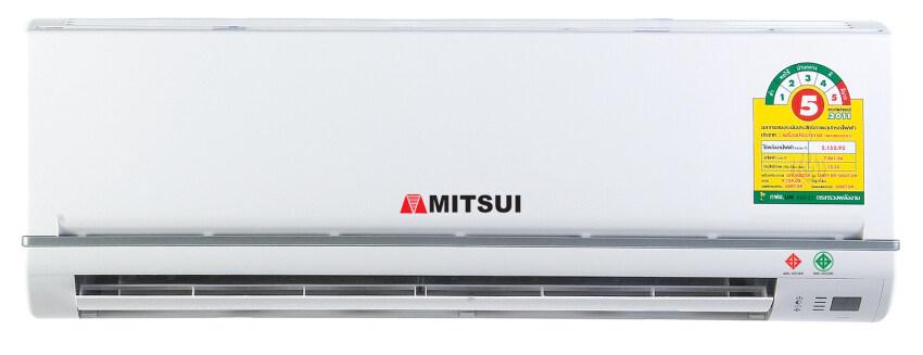 ด่วนMITSUI เครื่องปรับอากาศ แบบติดผนัง รุ่นประหยัดไฟเบอร์ 5 ขนาด12,075.41 btu./hr. - สีขาว ราคาประหยัด