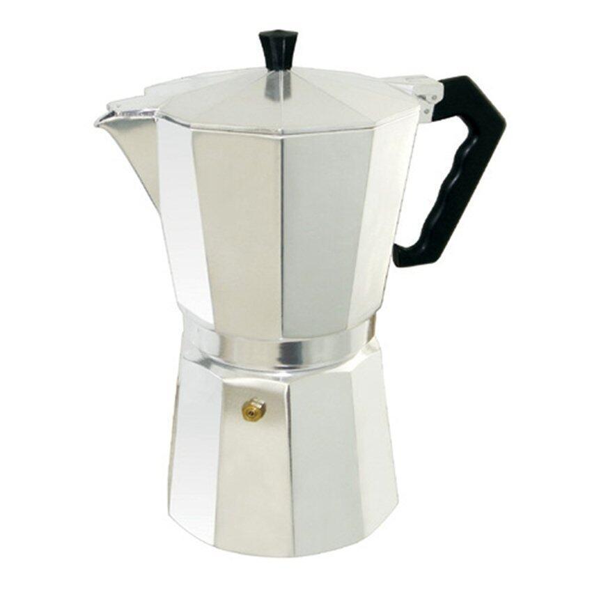 moka pot กาต้มกาแฟสด ที่ทำกาแฟสดพกพา ขนาด 6 cupหรือ 300 ml