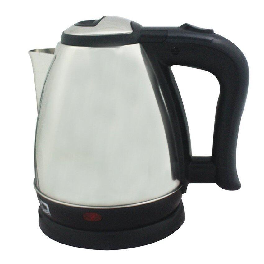 My Home กาต้มน้ำไร้สายพลาสติก ขนาด 1.2 ลิตร รุ่น KT-1202L - Silver