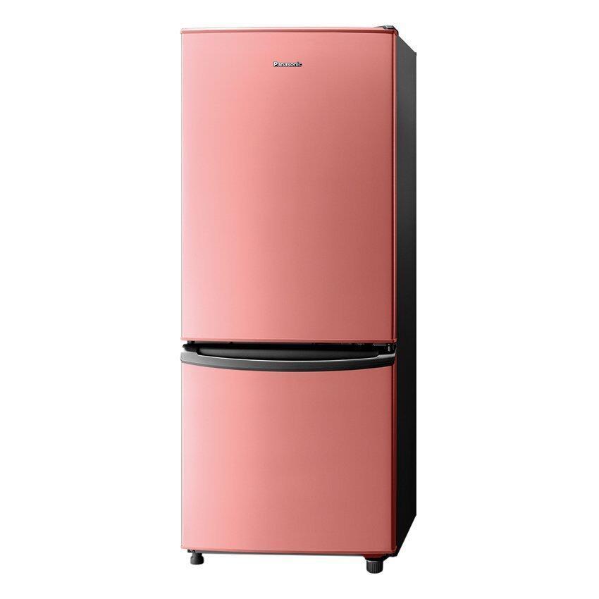 Panasonic ตู้เย็น 2 ประตู ขนาด 195 ลิตร / 6.9 คิว รุ่น NR-BT224S-P (สีพีช)