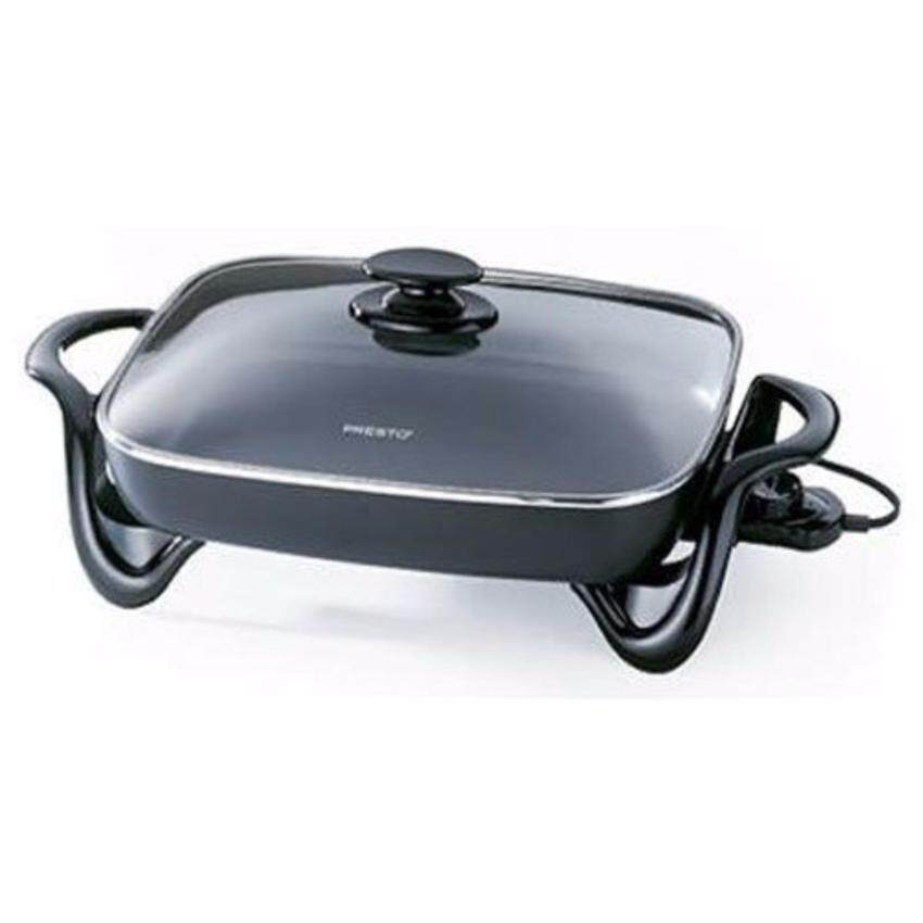 Presto 06852 16-Inch Electric Skillet with Glass Cover - intl