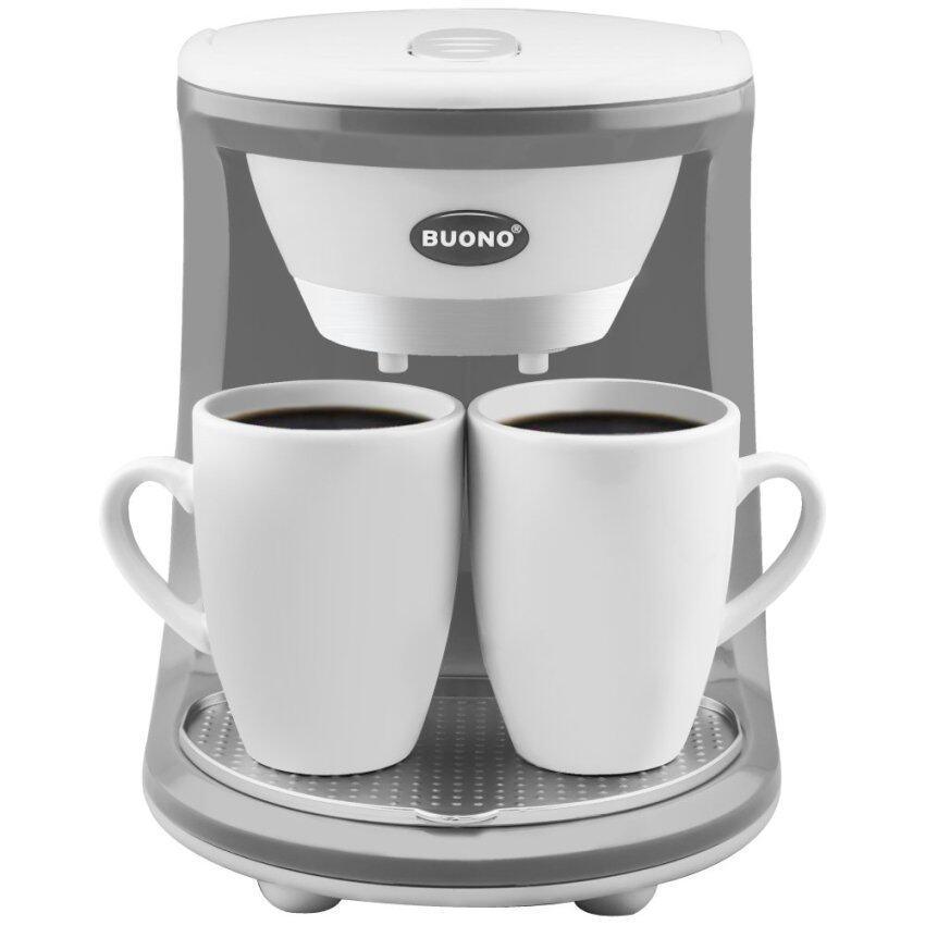 Severin เครื่องชงกาแฟ Coffee Maker 2 ถ้วย สีขาว / White 2 Cups รุ่น BUO-252312 - White ...