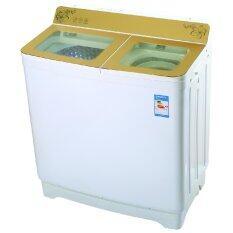 SILA TIGER เครื่องซักผ้าถังคู่ SW108 ขนาด 10.5 Kg.