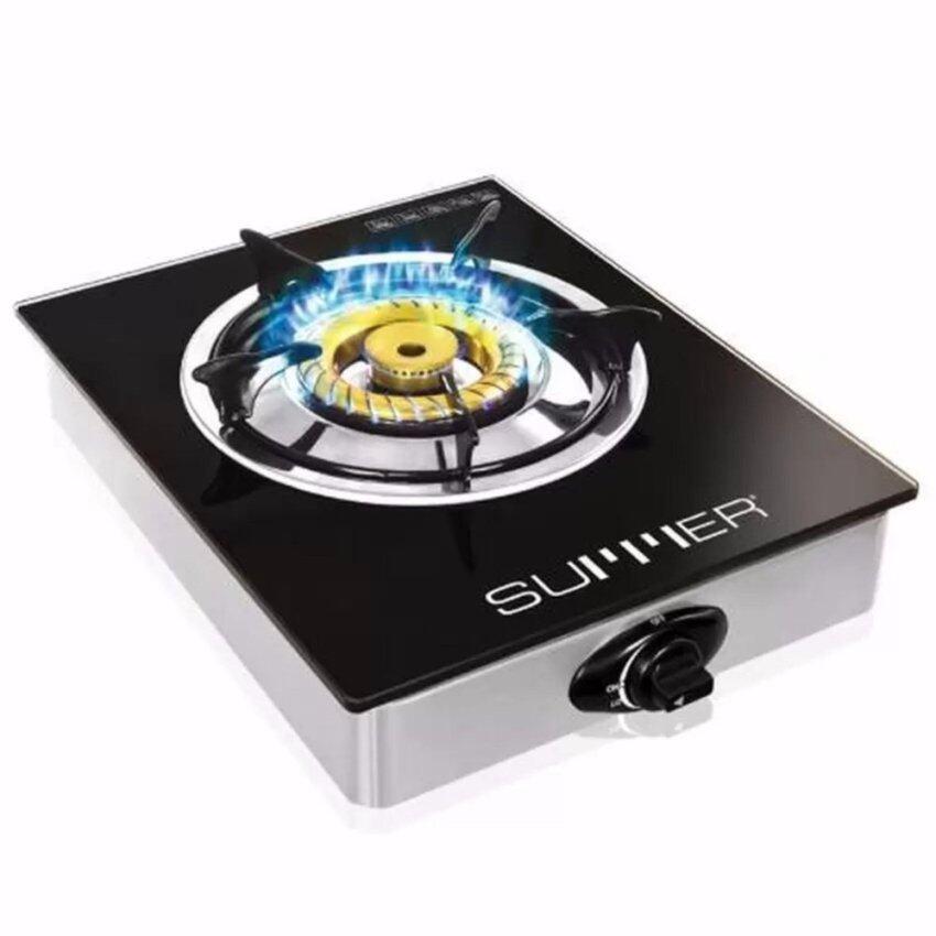 SUMMER Magic Crystal เตาแก๊สหัวเดี่ยว-ทองเหลือง รุ่น SU0390