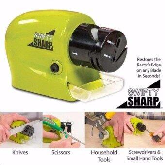 SWIFTY SHARP ที่ลับมีด ไฟฟ้า เอนกประสงค์ ลับของมีคม ลับกรรไกร
