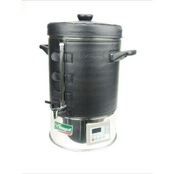 The Thai Tool ถังต้มน้ำไฟฟ้า คูลเลอร์ ตรานกนางนวล 14 ลิตร - Silver