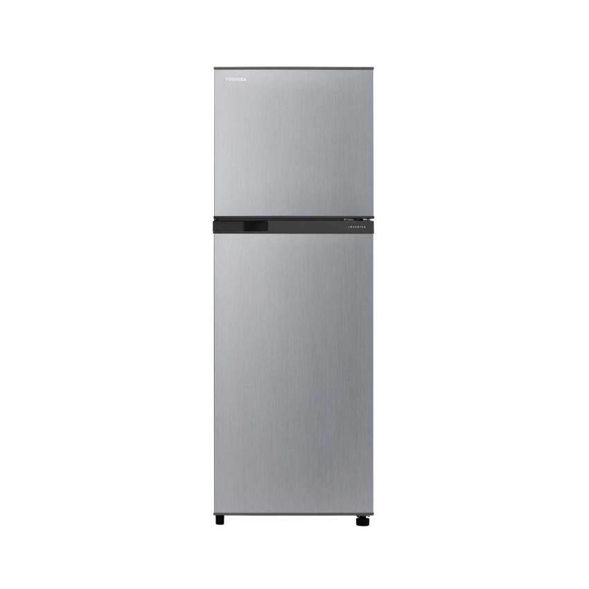 Toshiba ตู้เย็นอินเวอร์เตอร์ 2 ประตู 8.2 คิว GR-M28KBZ(S) - (สีซิลเวอร์)