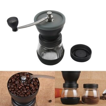 uiuinon Manual Coffee Grinder Coffee Mill Grinding Mill Pepper Grinder Bean Grinder With Sealed CanCoffee - intl